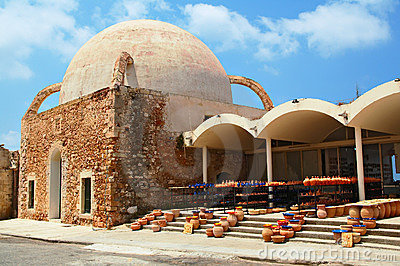 Old mosque in Chania