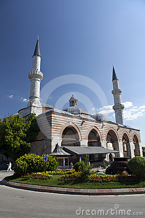 The Old Mosque in Edirne Editorial Photography