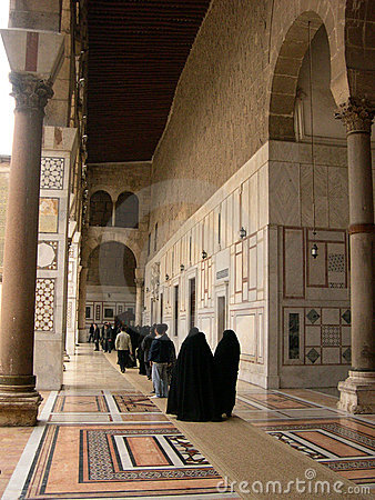 Free Old Mosque In Damascus, Syria Stock Image - 115671