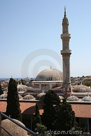 Old mosque in Rhodes