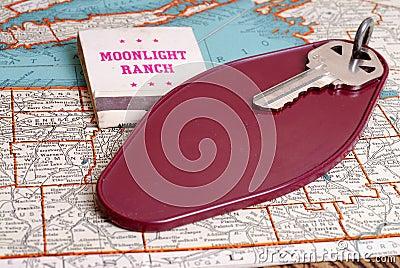 Old Motel Room Key