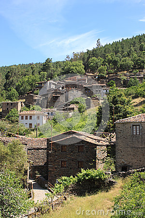 Old mountain village