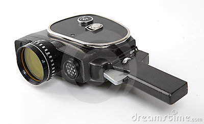 Old movies camera