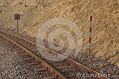 Old narow-gauge railroad