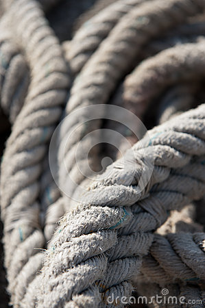 Old nautical cord