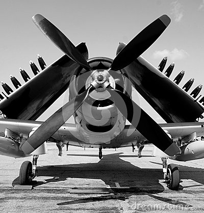 Free Old Navy Fighter Plane Stock Photo - 32997060