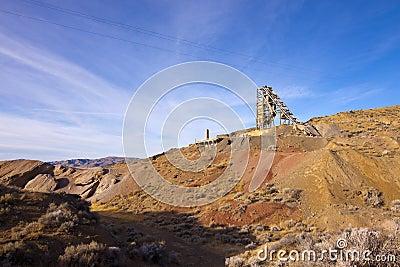 Old Nevada Quicksilver Mine