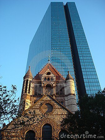 Old and new in Boston