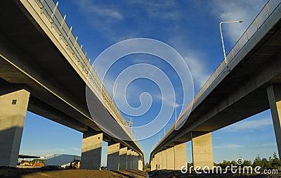 Old and new Gateway Bridge