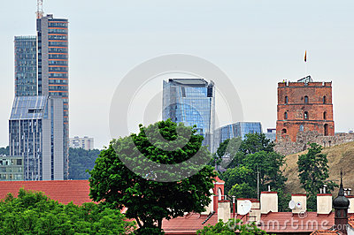 Old and new Vilnius