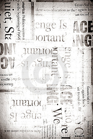 Free Old News Paper Stock Image - 9437241