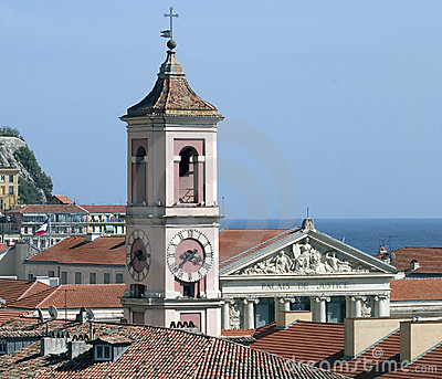 Old Nice rooftops