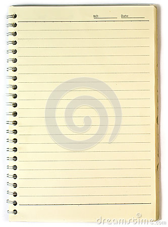 Old note-book