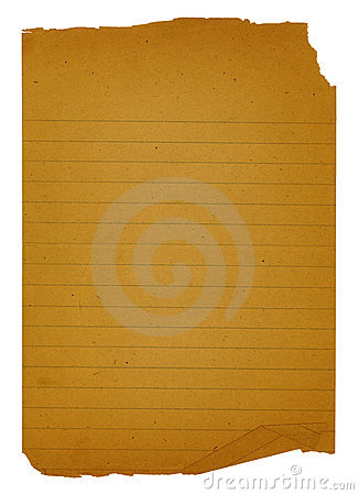 Old Note Paper