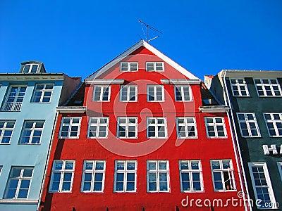Old Nyhavn - Modern Copenhagen