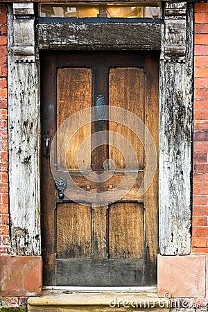 Free Old Oak Door. Stock Photos - 24367673