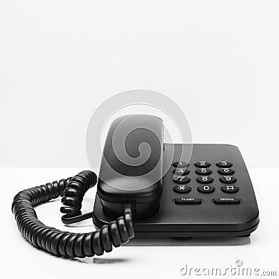 Old office desktop phone
