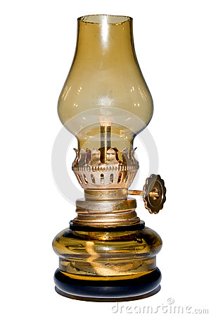 Free Old Oil Lamp. Royalty Free Stock Images - 28254509