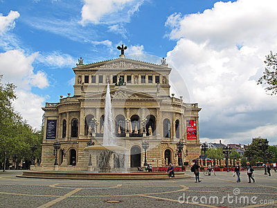 Old opera house - Frankfurt - Germany