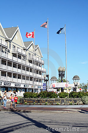 Free Old Orchard Beach, Maine Royalty Free Stock Photo - 21441315