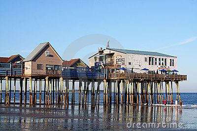 Old Orchard Beach, Maine Editorial Photo