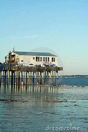 Old Orchard Beach, Maine Stock Photo - Image: 21468250