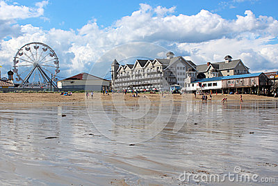 Old Orchard Beach, Maine Editorial Stock Image