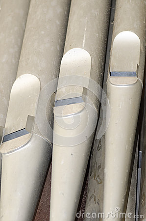 Free Old Organ Pipes Royalty Free Stock Photos - 43486988