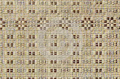 Old and ornamental linen tablecloth background