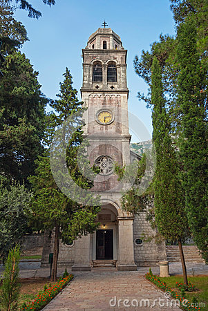 Free Old Orthodox Church In Risan, Kotor Bay Stock Photography - 35318312