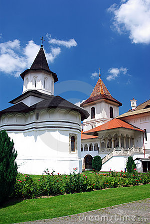 Old orthodox monastery