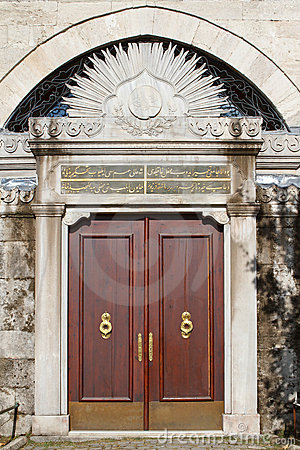 Old ottoman door - turkey