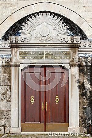 Old ottoman door - turkey