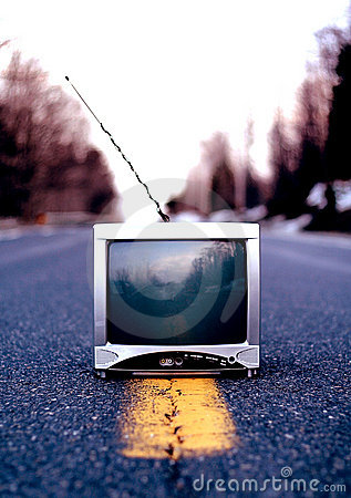 Old Outdated Television