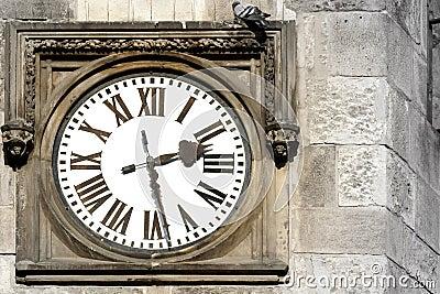 Old Outdoor Clock