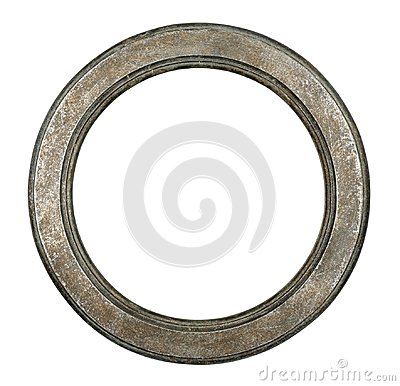 Free Old Oval Metal Frame Stock Photos - 114125743