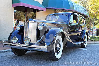 Old Packard Eight Car