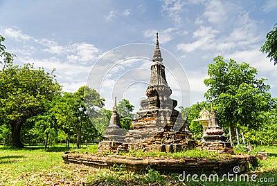 The old pagoda