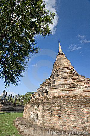 Old Pagoda in the Blue Sky