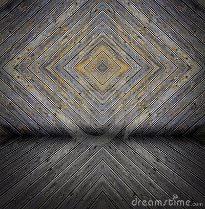 Old painted wooden rough planks background