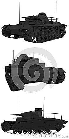 Old panzer 3 prototype