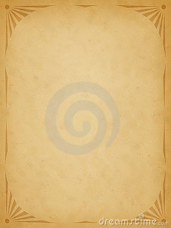 Old Paper With Border Stock Images - Image: 6500064
