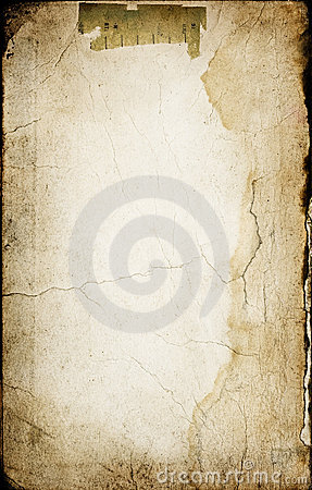 Old paper with cracks