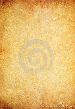 Free Old Paper Parchment As Grunge Background Royalty Free Stock Photo - 22744325
