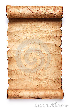 Free Old Paper Scroll Royalty Free Stock Image - 18528236