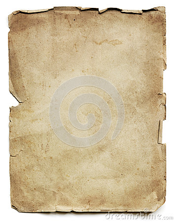 Free Old Paper Sheet  Stock Image - 35056911