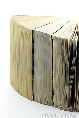 Free Old Paperbacks Standing Close To Each Other, Isola Royalty Free Stock Photos - 5429668