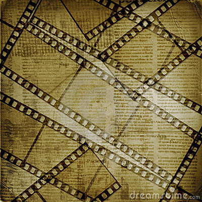 Old papers and grunge  filmstrip