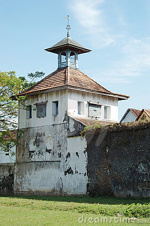 Old Paradesi synagogue in Cochin,India