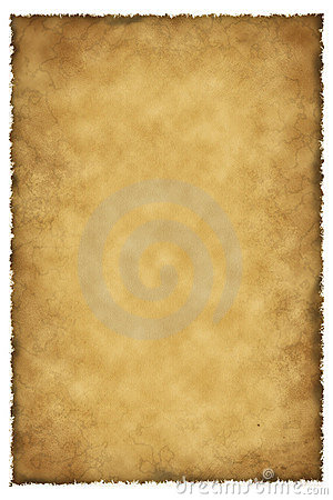 Old parchment lamb skin
